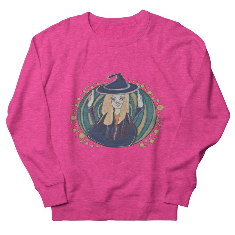 Witchy Magic Women's French Terry Sweatshirt by peacewild's Artist Shop