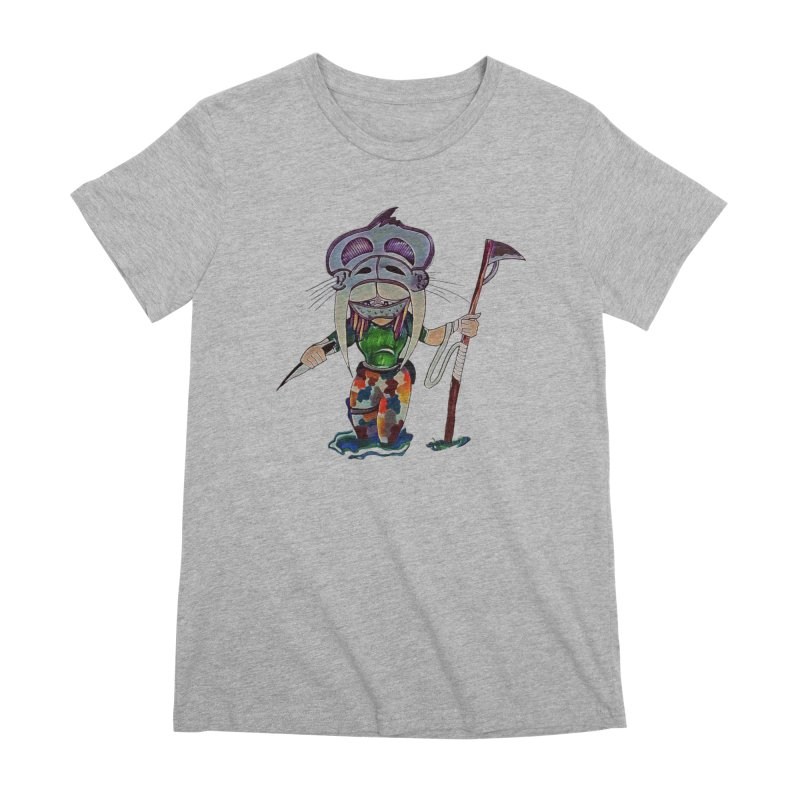The Huntress Women's Premium T-Shirt by peacewild's Artist Shop