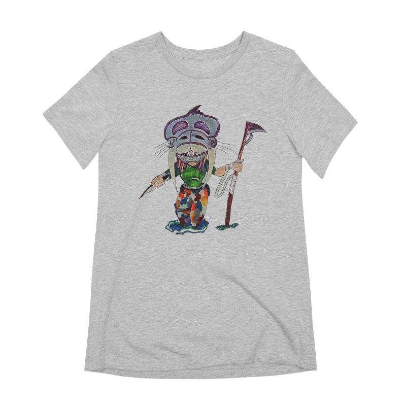 The Huntress Women's Extra Soft T-Shirt by peacewild's Artist Shop