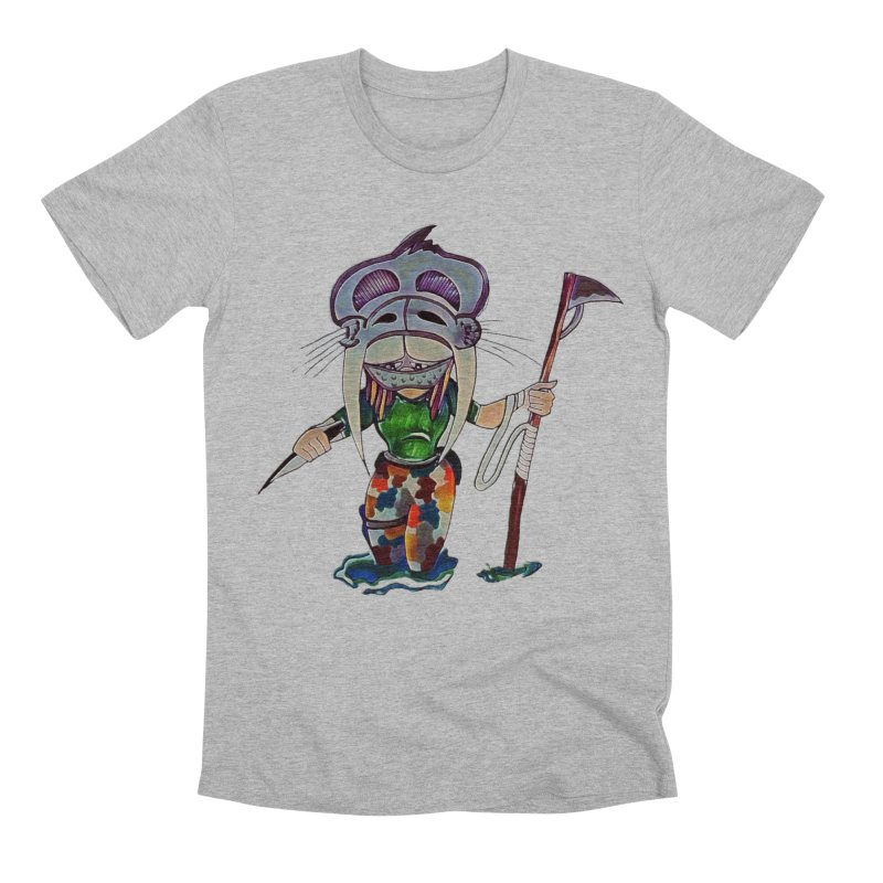 The Huntress Men's Premium T-Shirt by peacewild's Artist Shop