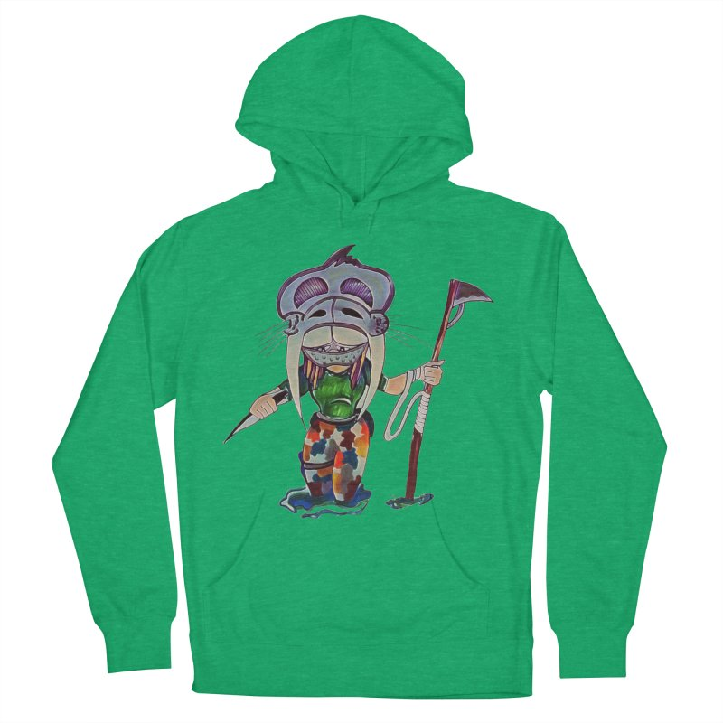 The Huntress Women's French Terry Pullover Hoody by peacewild's Artist Shop