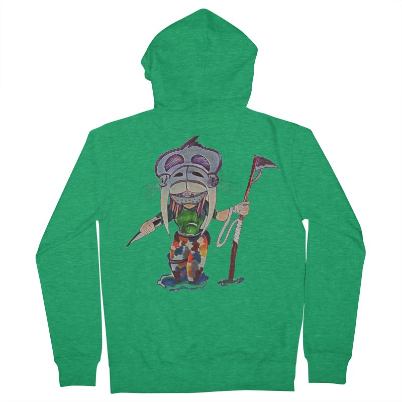 The Huntress Women's French Terry Zip-Up Hoody by peacewild's Artist Shop