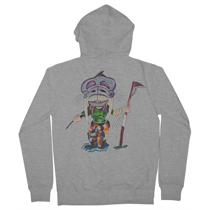 The Huntress Men's French Terry Zip-Up Hoody by peacewild's Artist Shop