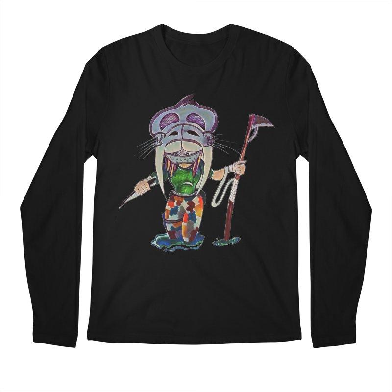 The Huntress Men's Regular Longsleeve T-Shirt by peacewild's Artist Shop