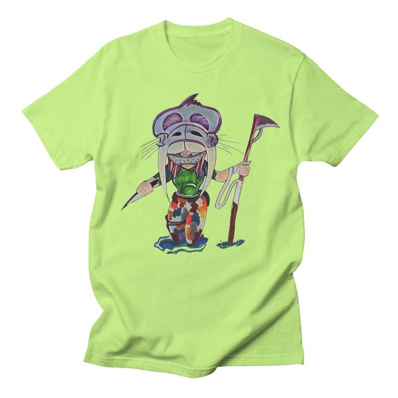 The Huntress Men's Regular T-Shirt by peacewild's Artist Shop