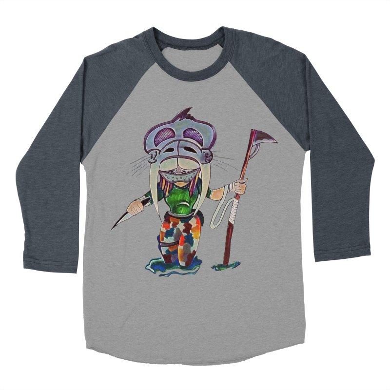 The Huntress Women's Baseball Triblend Longsleeve T-Shirt by peacewild's Artist Shop
