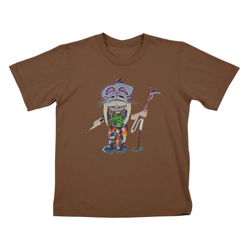 The Huntress Kids T-Shirt by peacewild's Artist Shop