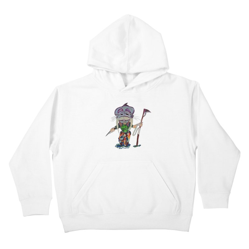 The Huntress Kids Pullover Hoody by peacewild's Artist Shop