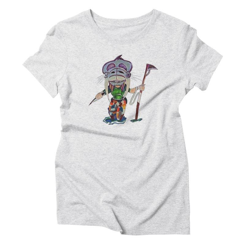 The Huntress Women's Triblend T-Shirt by peacewild's Artist Shop