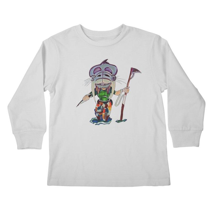 The Huntress Kids Longsleeve T-Shirt by peacewild's Artist Shop