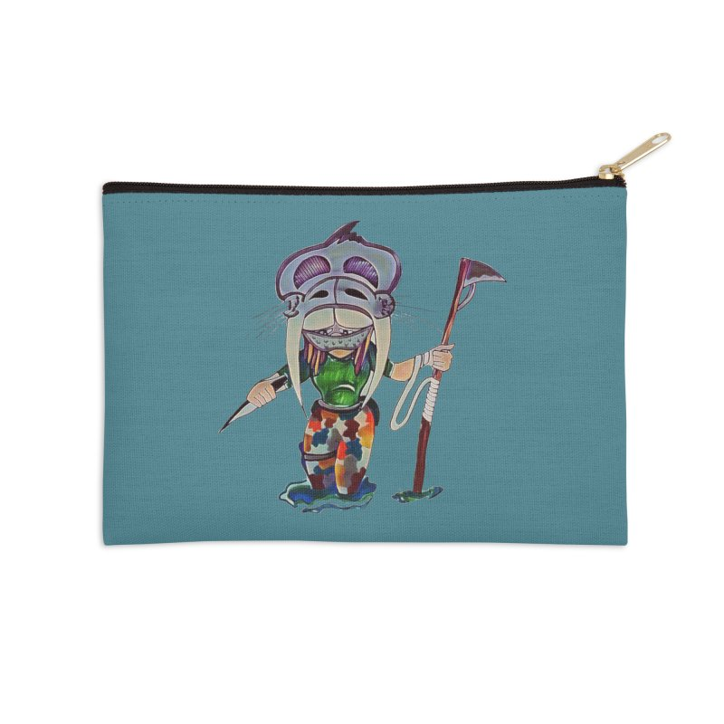 The Huntress Accessories Zip Pouch by peacewild's Artist Shop