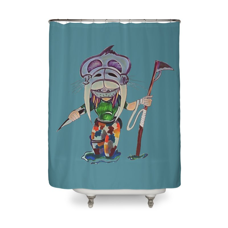 The Huntress Home Shower Curtain by peacewild's Artist Shop