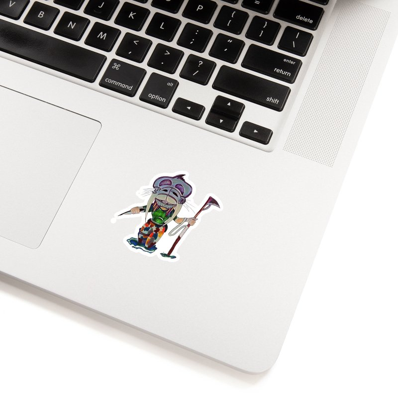 The Huntress Accessories Sticker by peacewild's Artist Shop