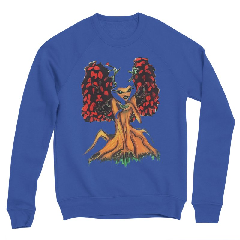 The Red Tree Fae Women's Sponge Fleece Sweatshirt by peacewild's Artist Shop