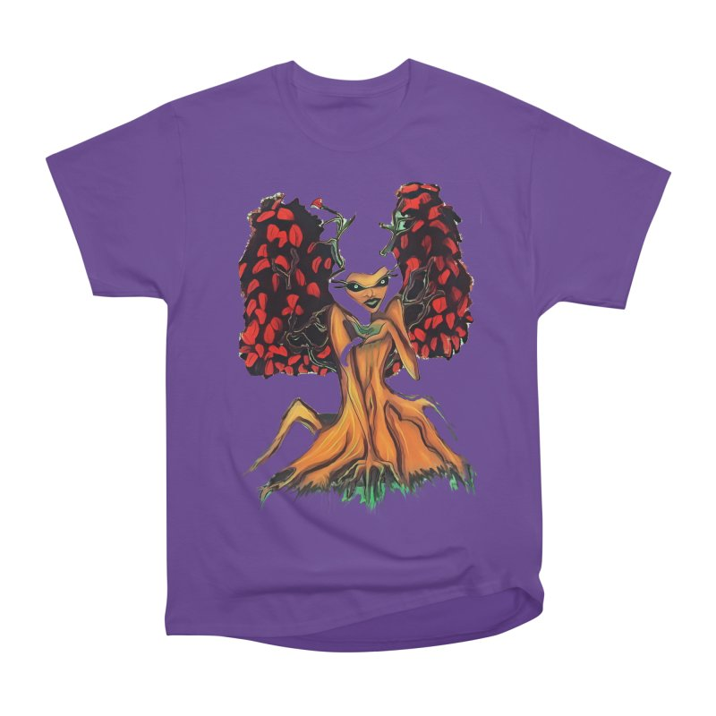The Red Tree Fae Women's Heavyweight Unisex T-Shirt by peacewild's Artist Shop