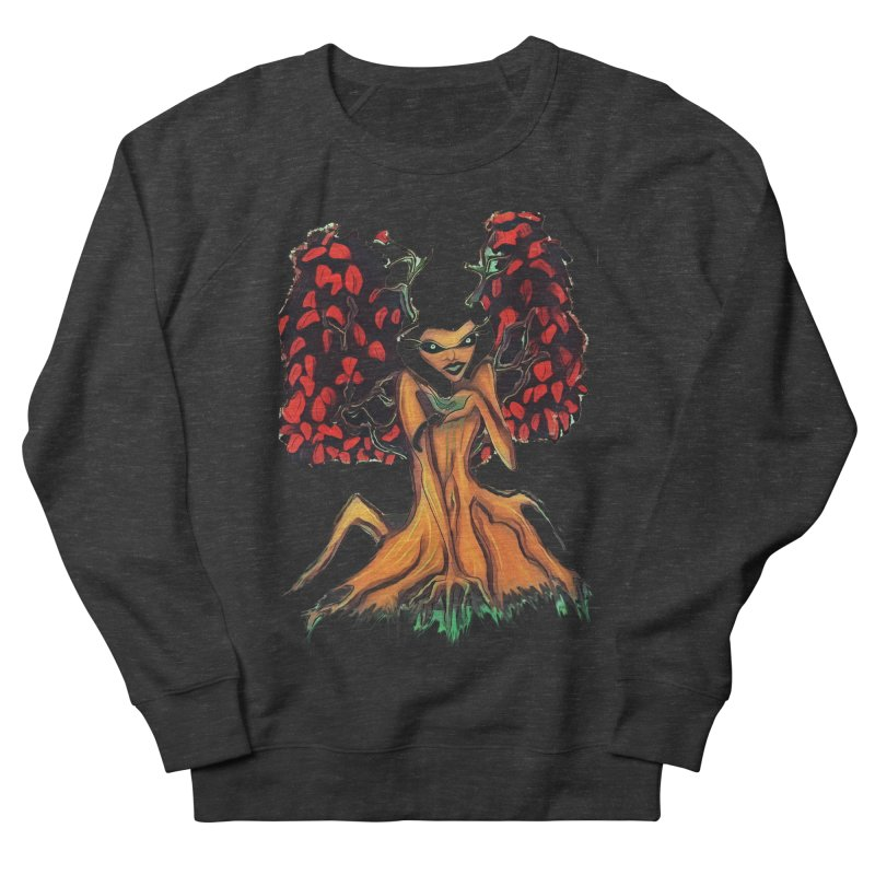 The Red Tree Fae Women's French Terry Sweatshirt by peacewild's Artist Shop
