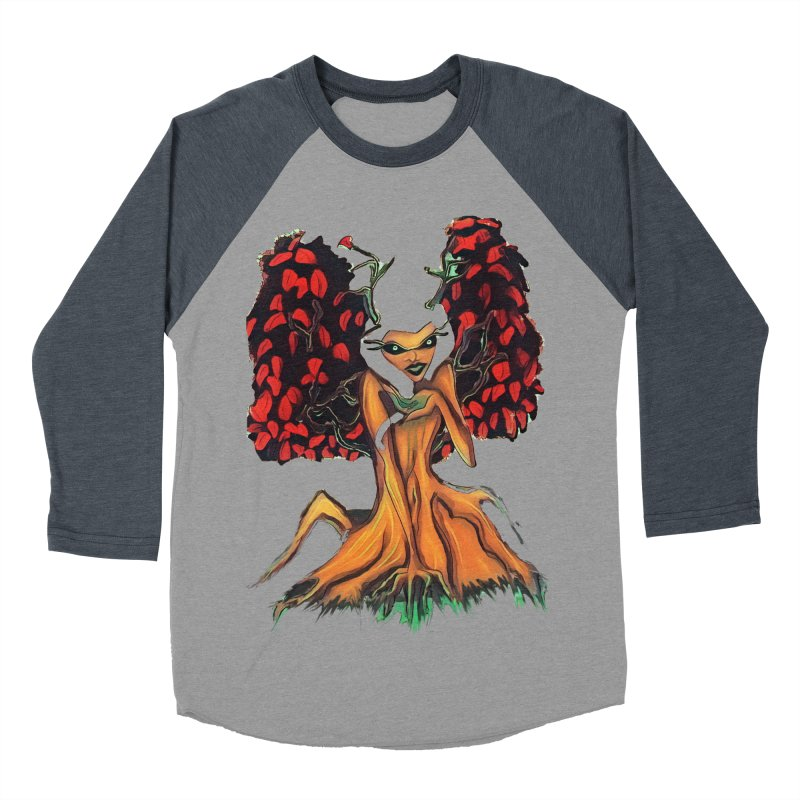 The Red Tree Fae Women's Baseball Triblend Longsleeve T-Shirt by peacewild's Artist Shop