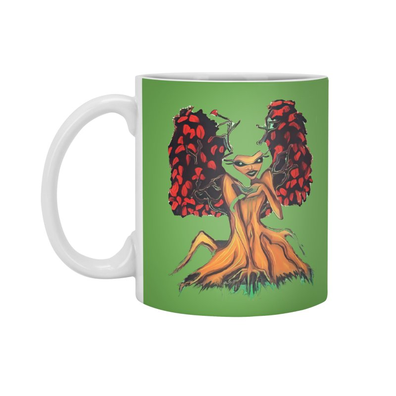 The Red Tree Fae Accessories Mug by peacewild's Artist Shop