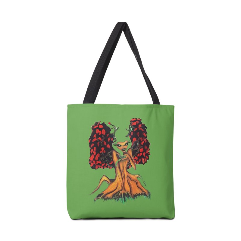 The Red Tree Fae Accessories Bag by peacewild's Artist Shop