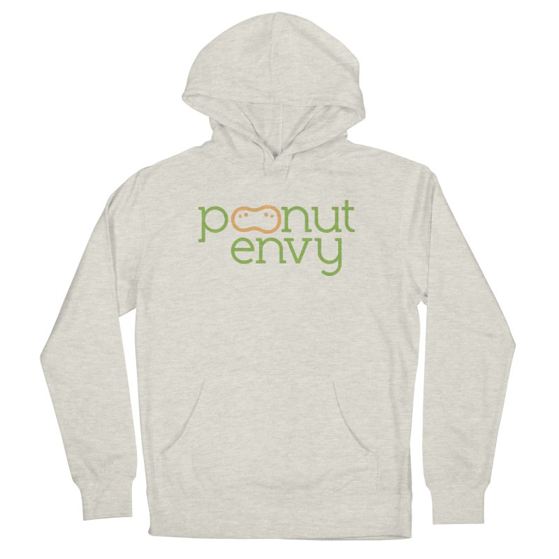 The Original in Women's French Terry Pullover Hoody Heather Oatmeal by Peanut Envy's Thread Shop