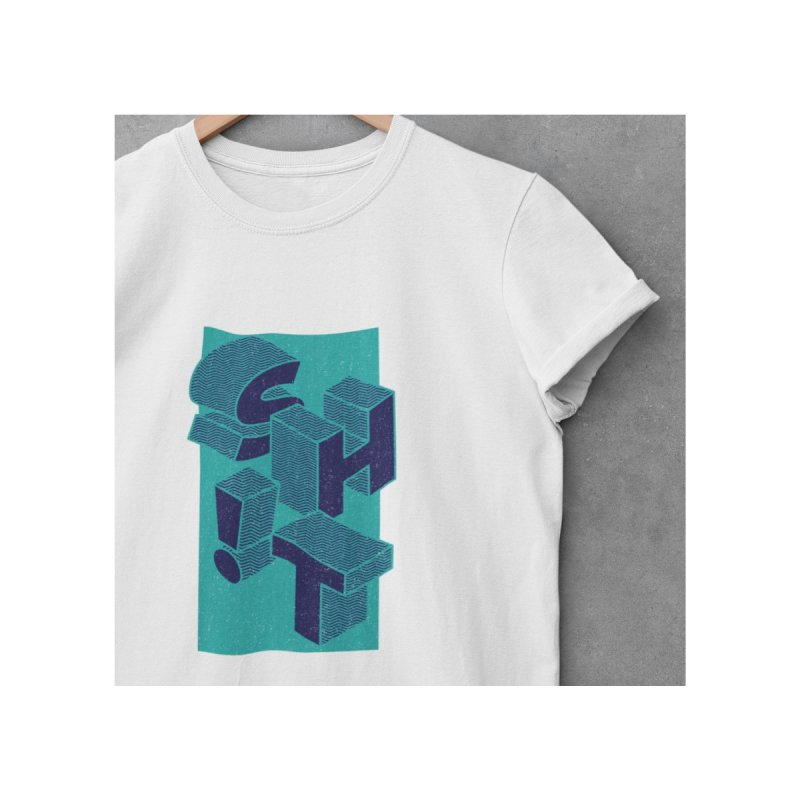 Sh*t! Men's T-Shirt by Peasant Clothing Shop