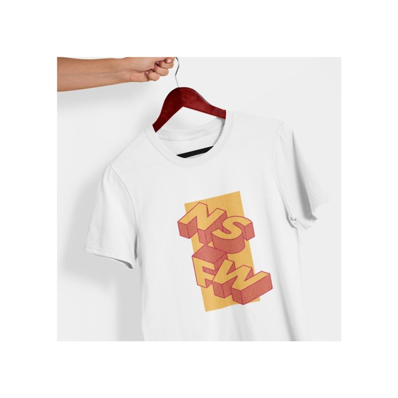 NSFW Men's T-Shirt by Peasant Clothing Shop