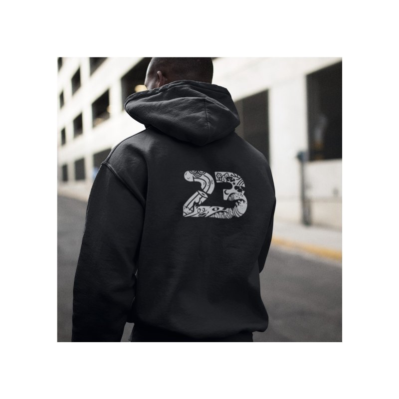 No. 23 Men's Zip-Up Hoody by Peasant Clothing Shop