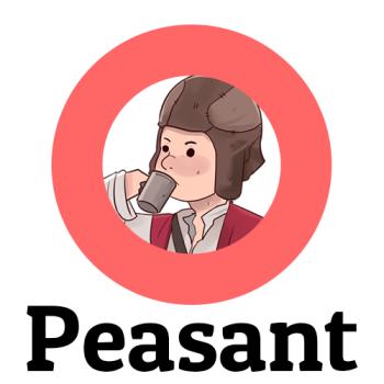 Peasant Clothing Shop Logo