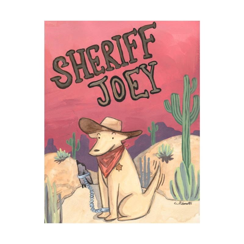 Sheriff Joey and The Rowdy Crow by Peculiar Peccary's Artist Shop