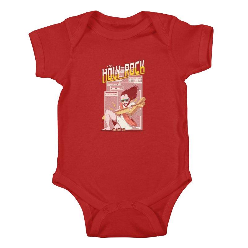 Holy Rock Kids Baby Bodysuit by pedrorsfernandes's Artist Shop