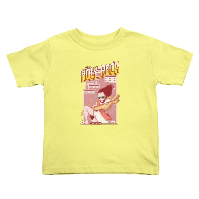 Holy Rock Kids Toddler T-Shirt by pedrorsfernandes's Artist Shop