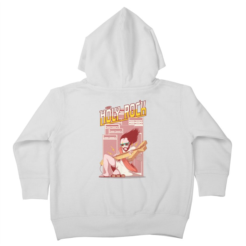 Holy Rock Kids Toddler Zip-Up Hoody by pedrorsfernandes's Artist Shop