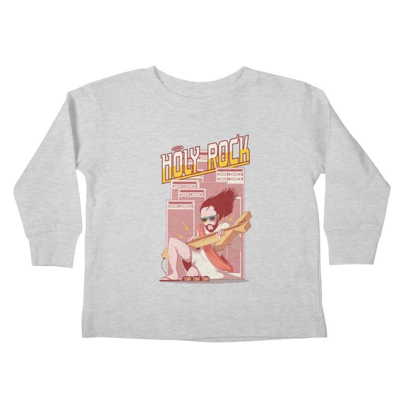 Holy Rock Kids Toddler Longsleeve T-Shirt by pedrorsfernandes's Artist Shop