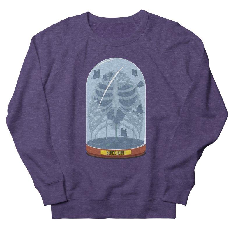 Black Heart Men's Sweatshirt by pedrorsfernandes's Artist Shop