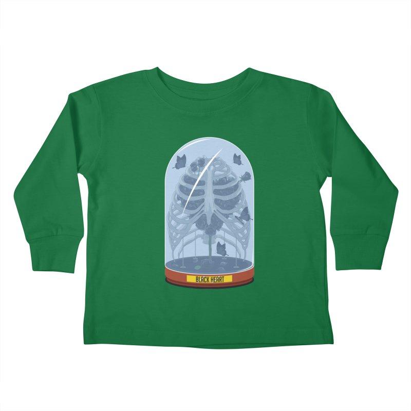 Black Heart Kids Toddler Longsleeve T-Shirt by pedrorsfernandes's Artist Shop