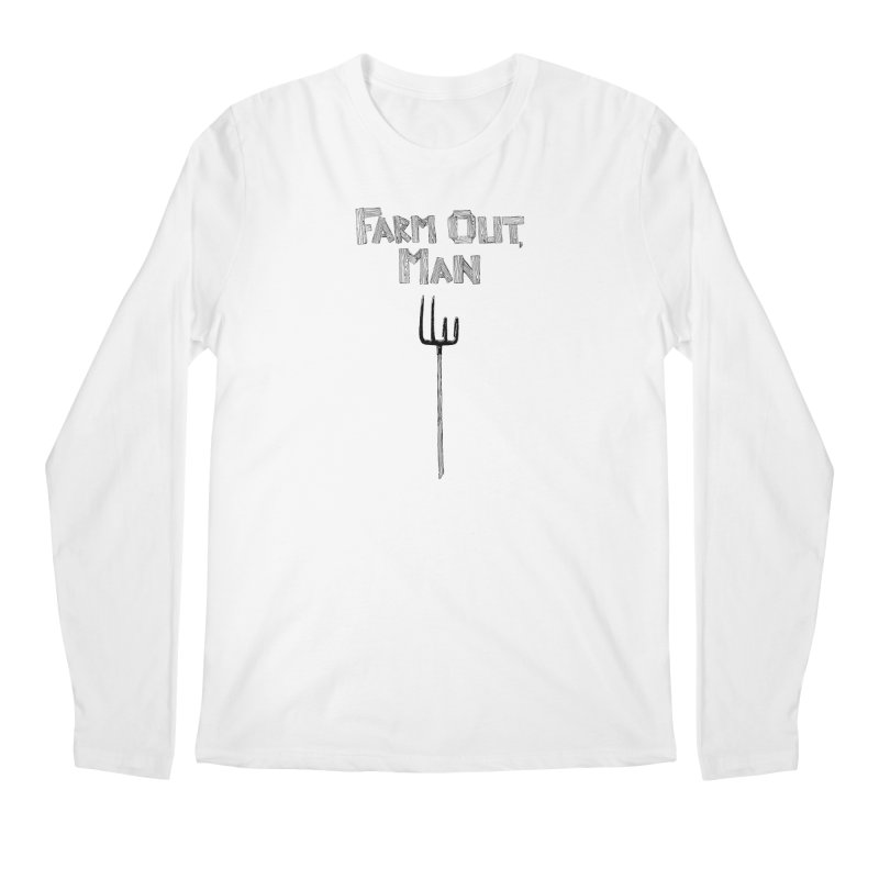 Farm Out Men's Regular Longsleeve T-Shirt by Peepal Farm's Shop