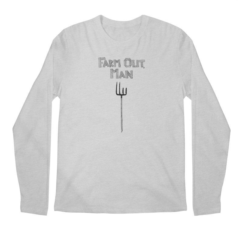 Farm Out Men's Regular Longsleeve T-Shirt by Peepal Farm's Shop