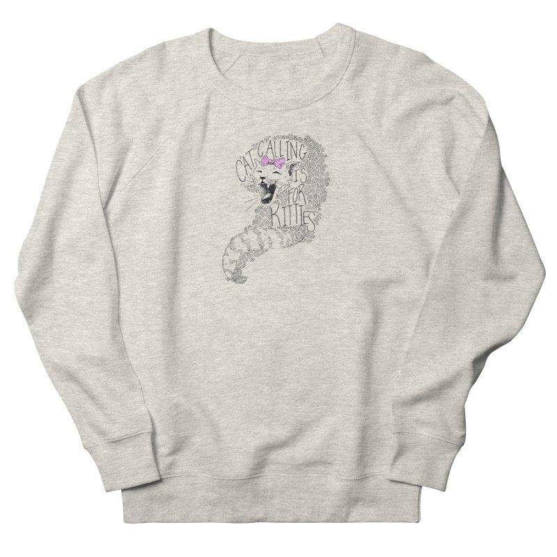 Leave it to the Kitties Men's French Terry Sweatshirt by Peepal Farm's Shop