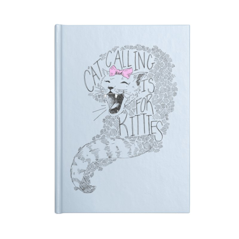 Leave it to the Kitties Accessories Blank Journal Notebook by Peepal Farm's Shop