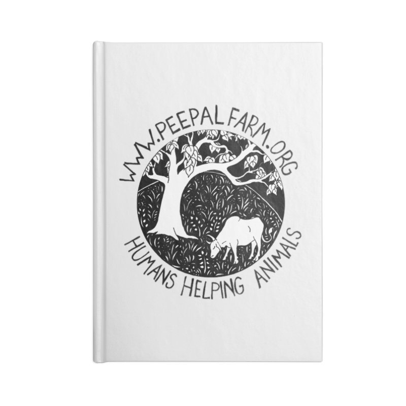 Help Animals Accessories Notebook by Peepal Farm's Shop