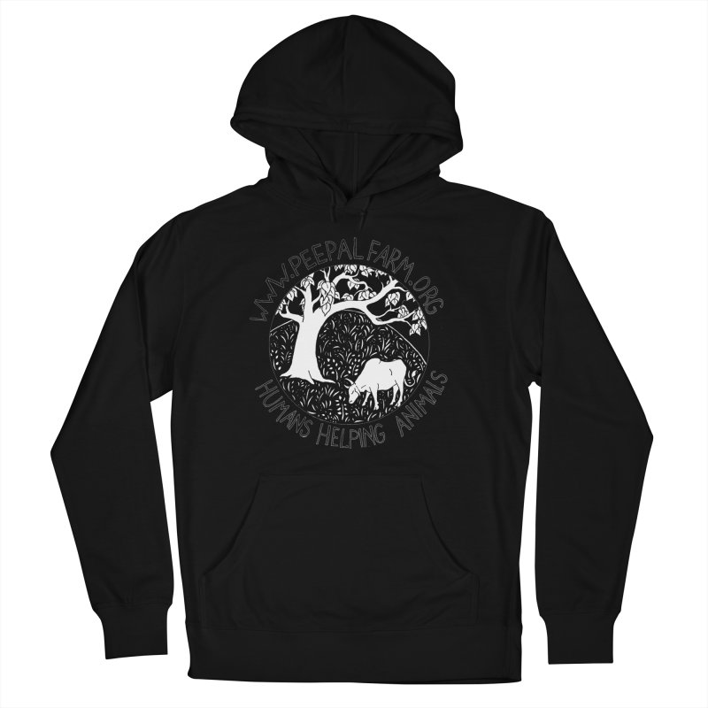 Help Animals Women's French Terry Pullover Hoody by Peepal Farm's Shop