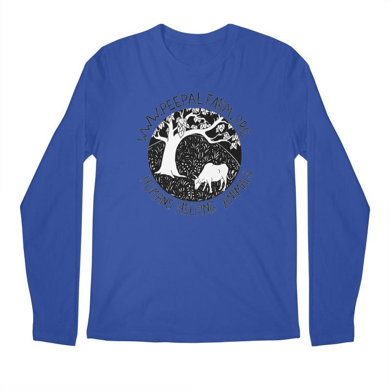Help Animals Men's Regular Longsleeve T-Shirt by Peepal Farm's Shop
