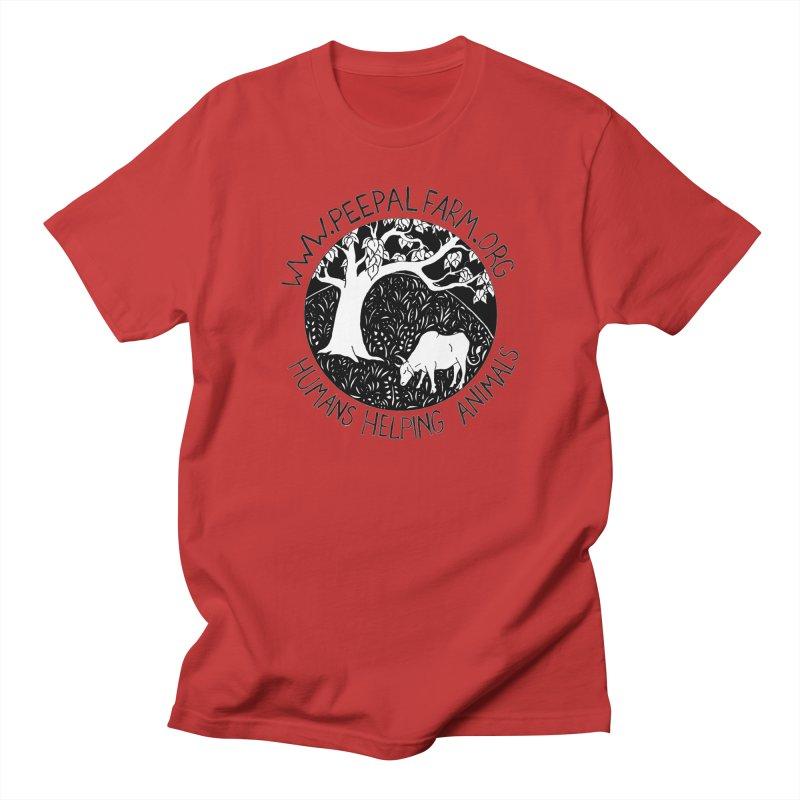 Help Animals Men's Regular T-Shirt by Peepal Farm's Shop