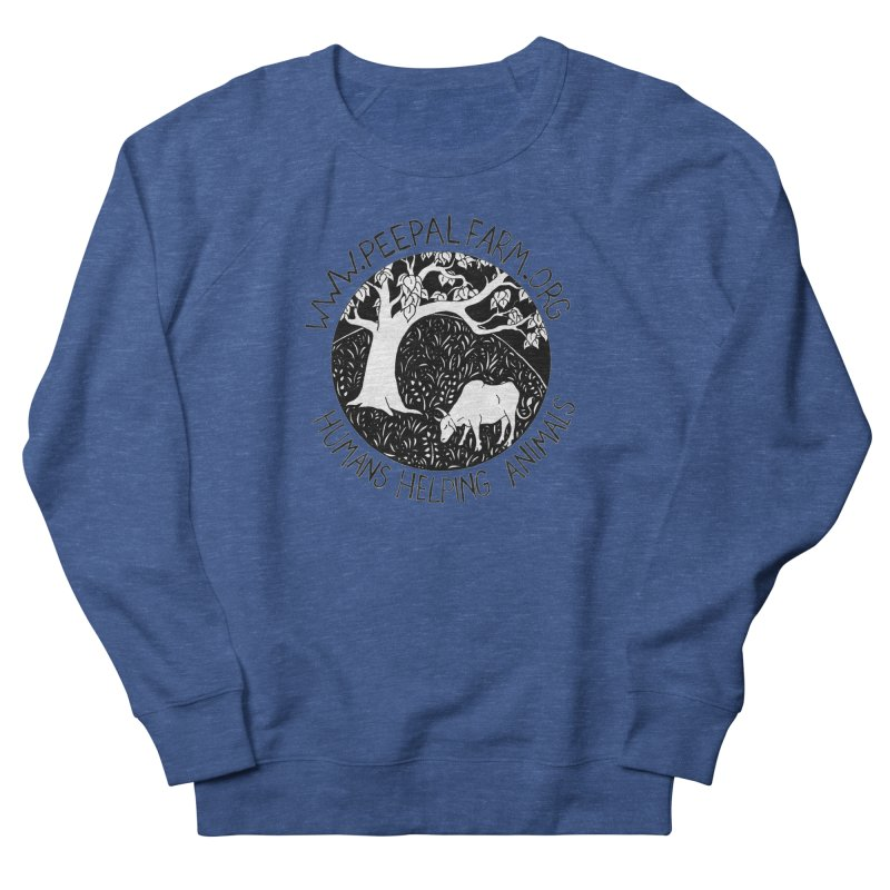 Help Animals Women's French Terry Sweatshirt by Peepal Farm's Shop