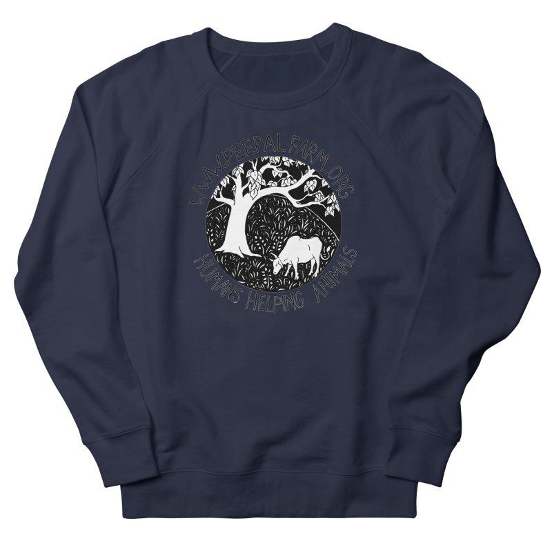 Help Animals Men's French Terry Sweatshirt by Peepal Farm's Shop