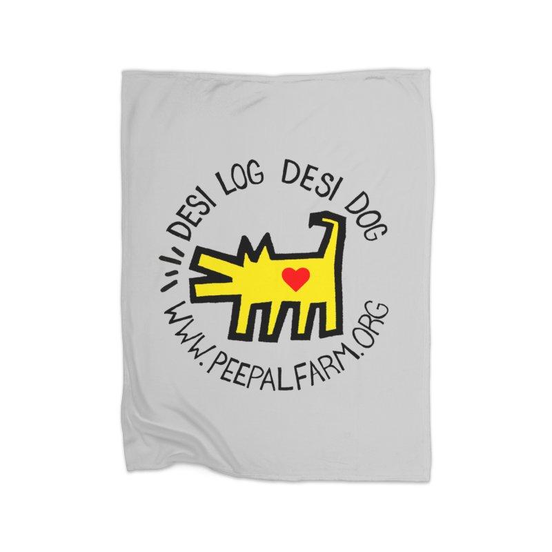 Desi Log Desi Dog Home Blanket by Peepal Farm's Shop