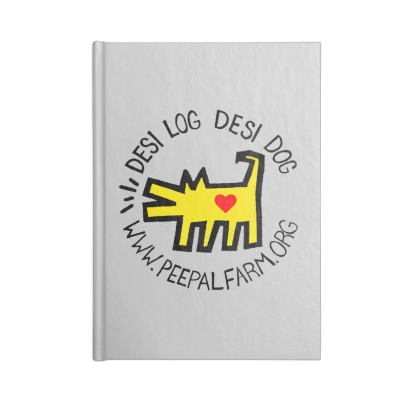 Desi Log Desi Dog Accessories Notebook by Peepal Farm's Shop