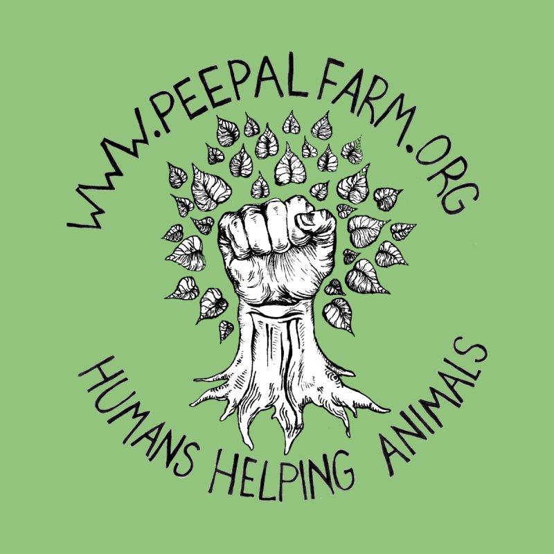 Power to the Peepal Men's T-Shirt by Peepal Farm's Shop
