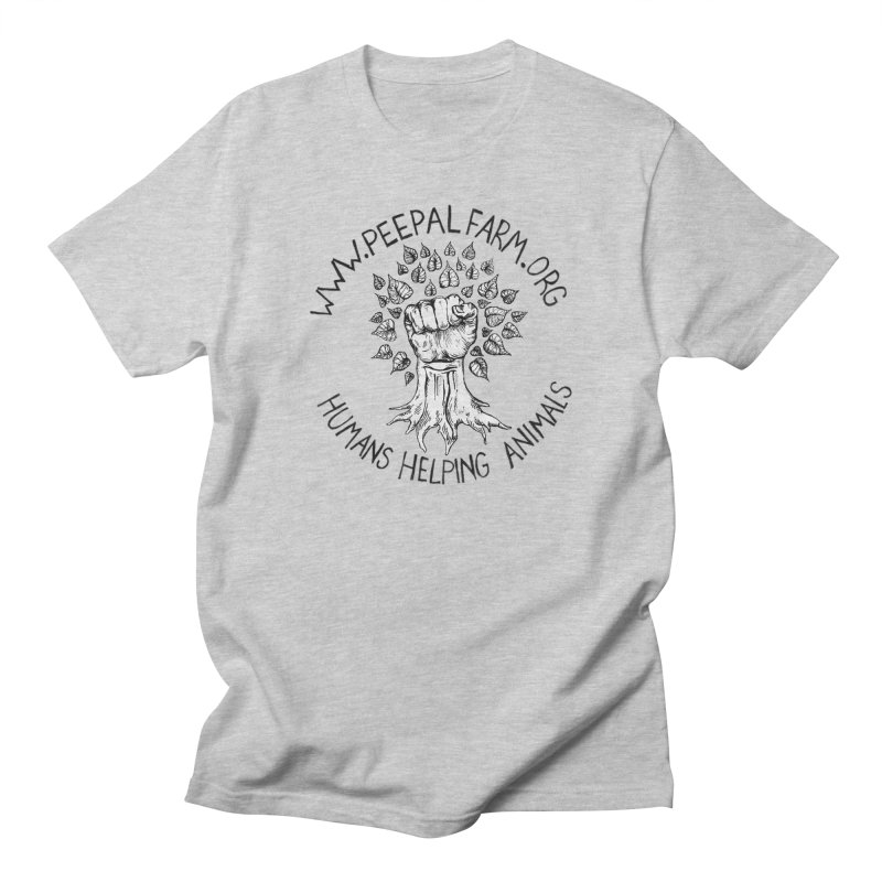 Power to the Peepal Men's Regular T-Shirt by Peepal Farm's Shop