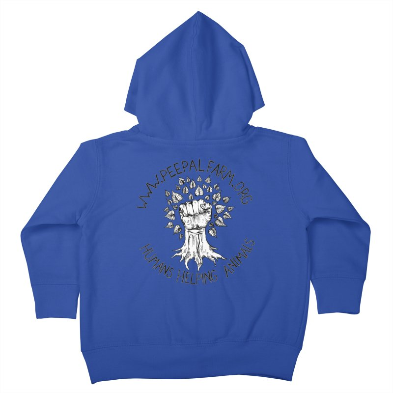 Power to the Peepal Kids Toddler Zip-Up Hoody by Peepal Farm's Shop